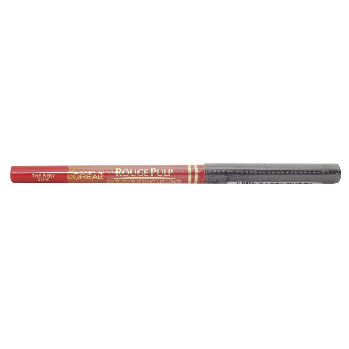 L'oreal Rouge Pulp Anti-feathering Lip Liner Pencil, The Fiery Reds. by COSMAIR