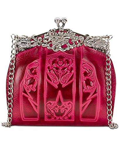 Tooled Nash Rosaria Patricia Pink Clutch Frame Burnished dEqvnOn1R