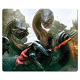 26x21cm 10x8inch mousemat rubber + cloth Smooth Perfect Dragon's Dogma