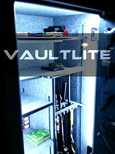 VAULTLITE(TM) V2 Quick Install Custom Large Gun Safe Lighting Kit