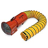 Allegro Industries 9514 Axial Blower with Canister, AC Electric 1/3 hp, Includes 15' Ducting
