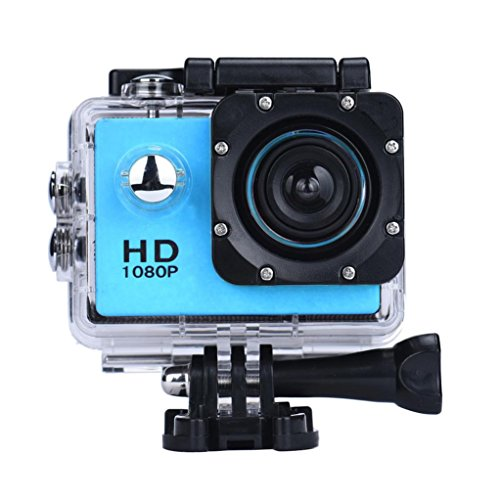 Paper Cassette Frame (WiFi Waterproof Sports DV,Iusun Mini 1080P Full HD DV Sports Recorder Car Waterproof Action Camera Camcorder Support 32GB SDHC card + 0.12inch Focal Length (Blue))
