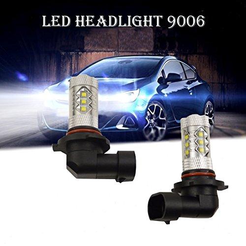 Super Bright 80W 9006 HB4 Osram LED Car Headlight Light Lamp Bulb - 7