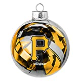 MLB Pittsburgh Pirates Large Tinsel Ball Ornament