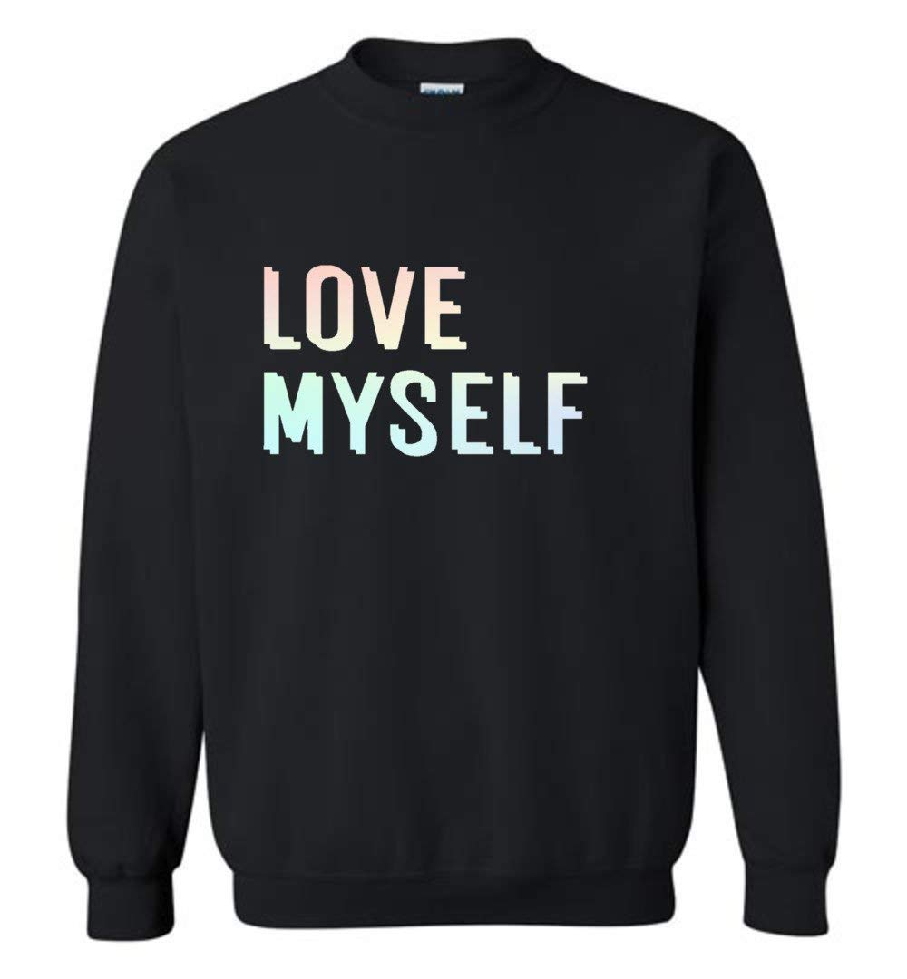 The Incredible BTS Love Myself Love Yourself Hoodies Sweaters RM Jin Suga J-Hope Jimin V Jungkook