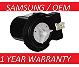 New OEM Original Samsung DC31-00054A Washer Drain Pump AP4202690,1534541, PS4204638, DC31-00016A - 1 YEAR WARRANTY by PrimeCo