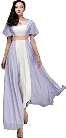 Titanic Rose Evening Ball Gown Party Dress Jump Long Victorian Cosplay Costume