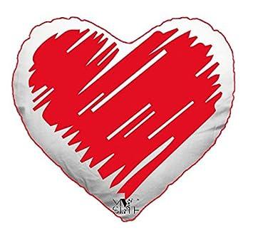 My Custom Style® Kissen Herzform Typ Valentinstag U2013 Herz Stilizzato  65 X 55