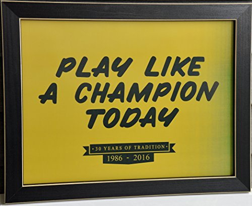 PLACT - 30th Anniversary Limited Edition Framed Print Champions Wood Sign