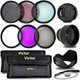 Professional 52MM UV CPL FLD Filters, Neutral Density Set, 10 Piece Compact Photography Accessories For Nikon