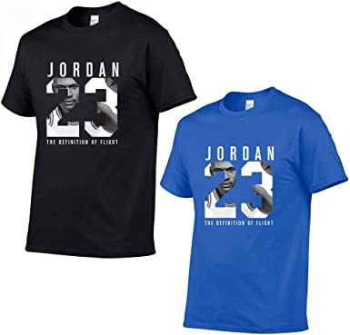 Jordan 23 Hombres Camiseta algodón Estampado,2 Pieces: Amazon.es: Ropa y accesorios
