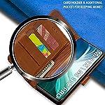TheGiftKart Genuine Leather Finish Xiaomi Mi 11X / Mi 11X Pro Flip Back Cover   Inbuilt Pockets & Stand   Wallet Style…