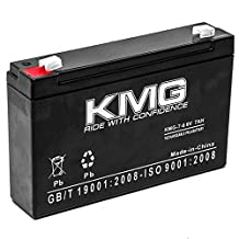 KMG 6V 7Ah Replacement Battery for Agt Battery LA670