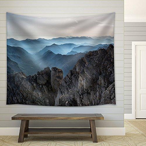 Rock Mountain Fabric Wall