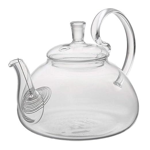 Jarras De Cristal Tetera De Vidrio Flower Coffee Glass Tea Pot ...