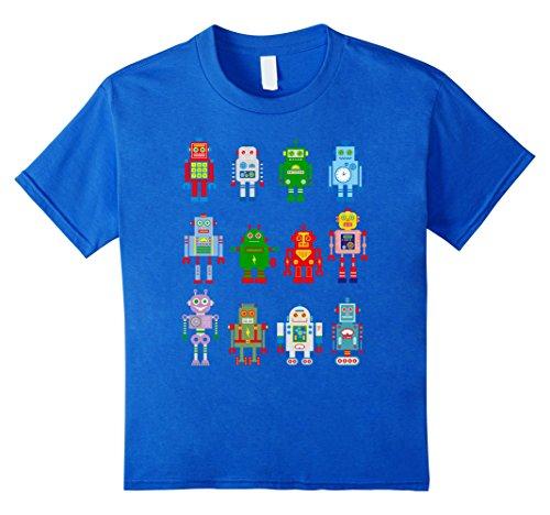 kids robot shirt - 3