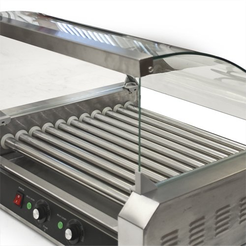 How To Clean A Hot Dog Roller Grill