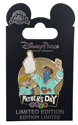 Disney Pin - Father's Day 2017 - Inside Out - Riley and ()