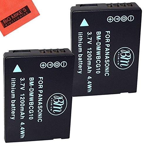 BM Premium 2-Pack of DMW-BCG10, DMW-BCG10E, DMW-BCG10PP B...