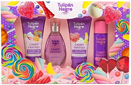 Tulipan Negro Col T Negro Est Candy/Fantasy 4 Pzas 200 g: Amazon ...