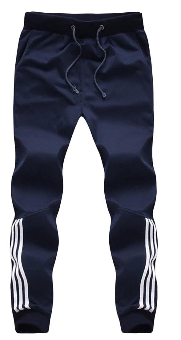 Generic Mens Drawstring Running Athletic Pants Sweatpants