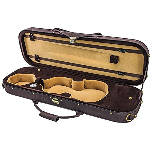 Violin Oblong Lightweight Hygrometer Coffee