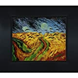overstockArt Wheat Field with Crows Hand Painted Oil Canvas Art by Van Gogh, 8 by 10-Inch
