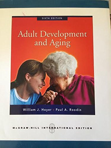 Adult development and aging hoyer