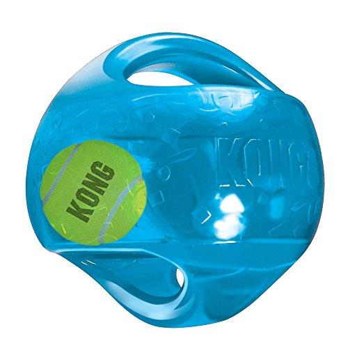 51eLaS19BWL - KONG Jumbler Ball Toy (colors may vary)