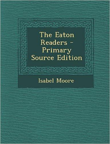 Englanninkielinen kirjan lataus Eaton Readers 1289403813 PDF MOBI