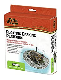 Zilla Reptile Habitat Décor Floating Basking Platform, Small