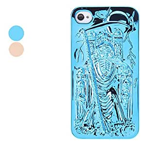 GOG- Phoebe Design Hard Case for iPhone 4 and 4S (Assorted Colors) , Blue