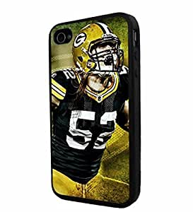 NFL Green Bay Packers Clay Matthews, Cool iPhone 5c Smartphone Case Cover Collector iphone TPU Rubber Case Black [ Original by PhoneAholic ]