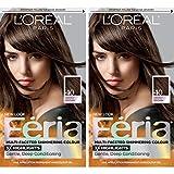 L'Oréal Paris Feria Multi-Faceted Shimmering Permanent Hair Color, 40 Espresso, 2 COUNT Hair Dye