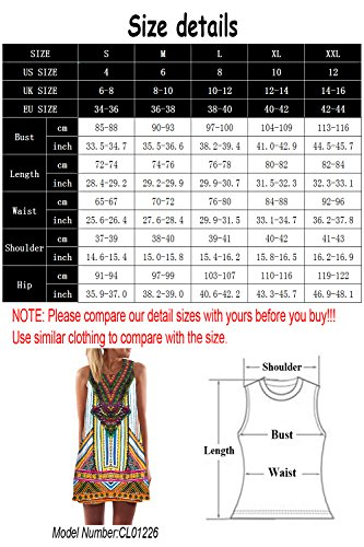 Shopping Type Loose Chiffon Sleeveless 5 Dress Short Dress Mini 365 Summer Women Sundress Beach dxwq7BdA