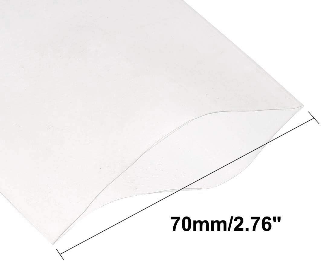TOOGOO Gaine Thermoretractable en PVC 70mm pour Film Retractable 4 x 18650 5M Transparent