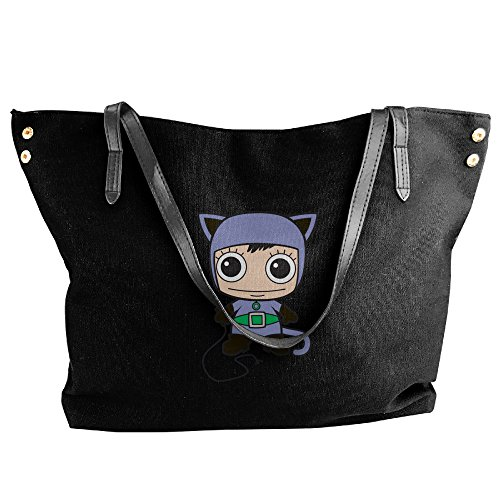 Mini Cat Woman Women's Shoulder Bags Casual Handbag - Poison Ivy Messenger Bag