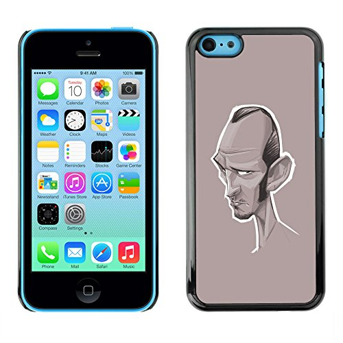 GagaDesign / Hard Skin Case Cover Pouch - Actor Hollywood - Apple iPhone 5C