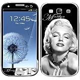 Samsung Galaxy S3 Marilyn Monroe Bw Decal Skins