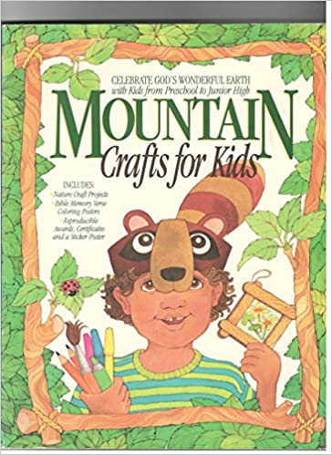 Mountain Crafts For Kids Nature Craft Projects Bible Memory Verse
