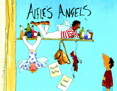 Alfies Angels in Albanian and English Henriette Barkow