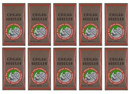 SIZE 100//16 ORGAN Domestic Sewing Machine HEAVY NEEDLES PACK OF 5 NEEDLES