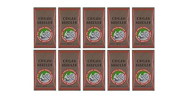 Amazon.com: Organ - Agujas para máquina de coser ...