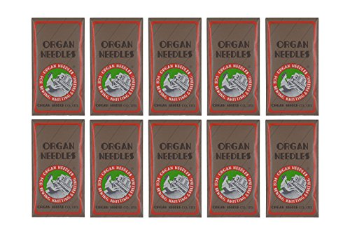 Organ Brother SAEMB7511 100-Piece 75/11 Embroidery Needles ()