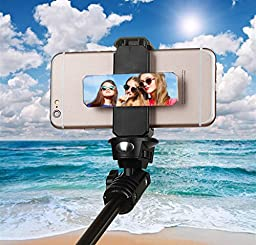 Tablet / Phone Tripod Mount Adapter, ohCome Universal Tablet | iPad Tripod Mount Adapter and Phone Mount Clip Holder - Used on Tripod, Monopod, Selfie Stick