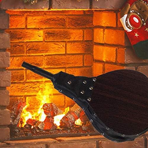 Gorgeousy Cheminée en Bois à Soufflet d'air Manuel pour cheminée de Barbecue en Plein air pour Camping