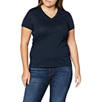 Tommy Hilfiger Heritage V-nk tee V-Neck T-Shirt para Mujer