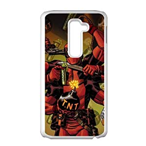 Red T.N.T Nosiod Cell Phone Case for LG G2