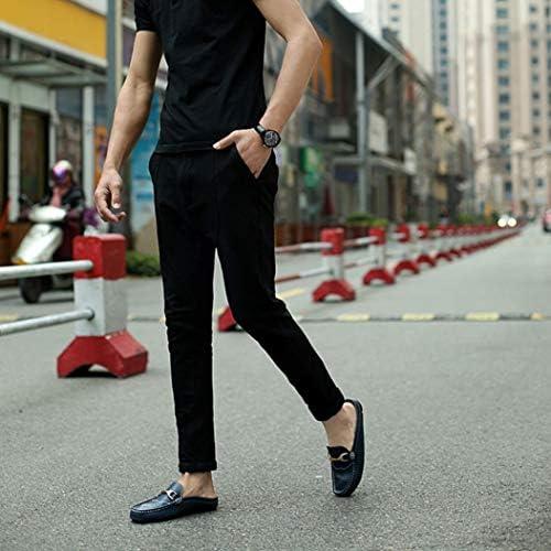 スリッポン ローファーメンズ スリッパ ドライビングシューズ 夏 ビジネスシューズ カジュアル 紳士靴 耐久性 モカシン 防滑 軽量 スムースシューズ 若者 フラットシューズ かかとなし 包頭 メンズシューズ