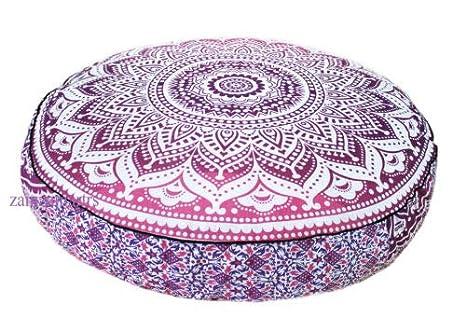 Amazon.com: GDONLINE Indian Mandala Pink Ombre Bohemian Yoga ...